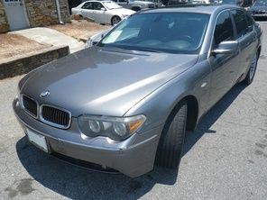 2004 BMW 7 Series 760Li 9,998 Bmw 7 series, Used bmw