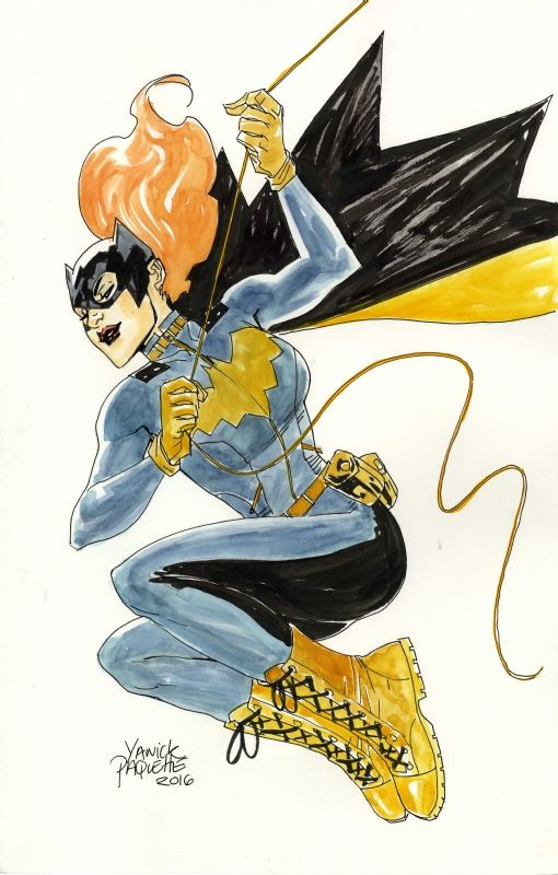Batgirl of Burnside by Yanick Paquette