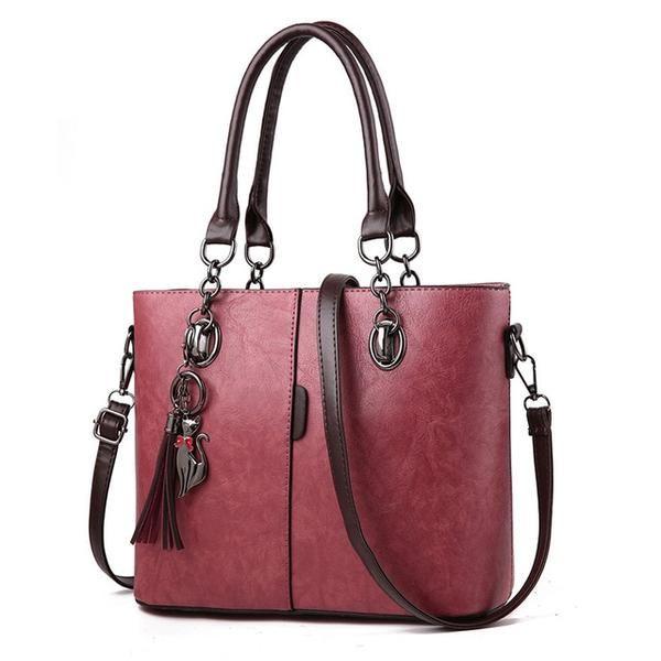 84b7b86295999 YINGPEI Women Bag Vintage Casual Tote Fashion Women Messenger Bags Shoulder  student Handbag Purse Wallet Leather