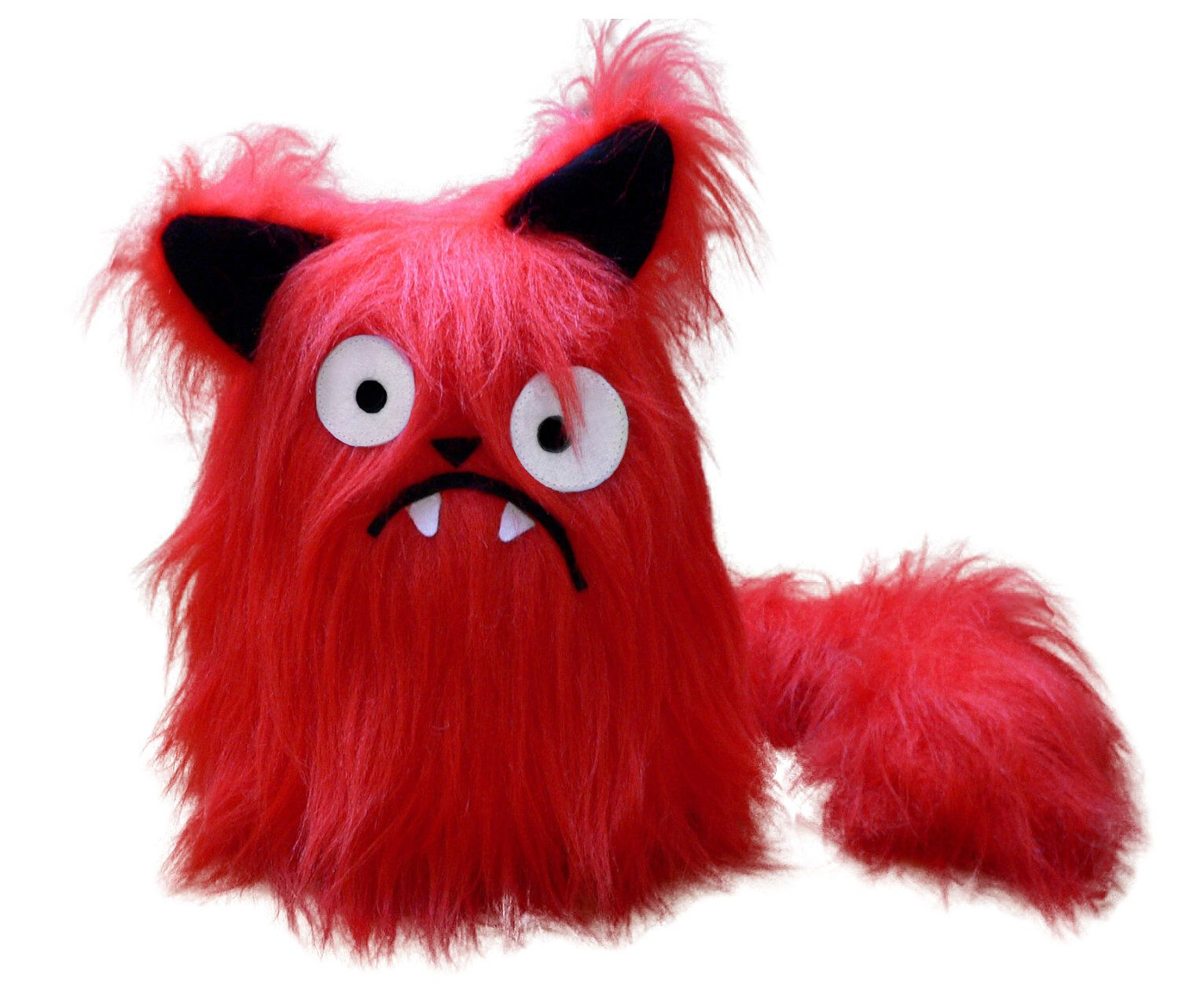 Boris the red cat pattern stuffed animal PDF sewing with