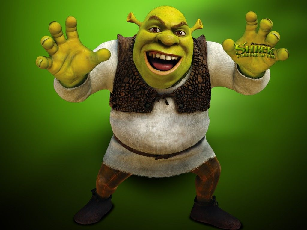 Cool Shrek Free Download Image Cartoon Wallpaper Shrek Animated Cartoons