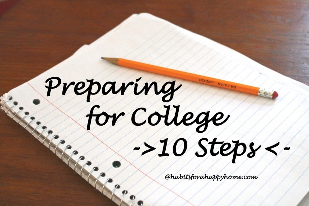 PREPARING for COLLEGE?