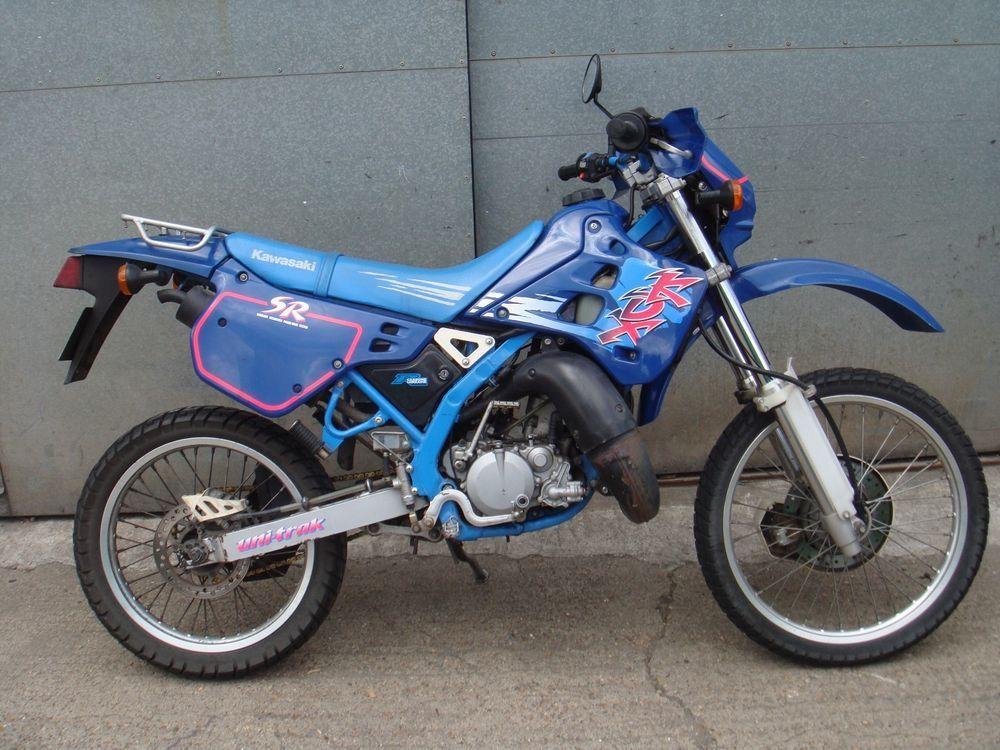 Ebay Kawasaki Kdx125 Kdx 125 Sr Kdx125sr Blue 1997 Great