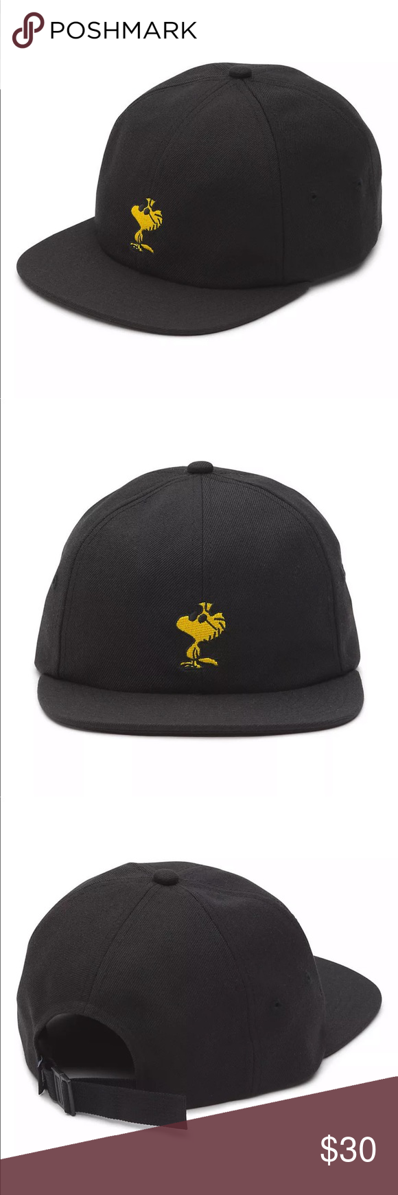 241fc44d Vans Peanuts Woodstock Dad Hat Brand new, with tags Vans Peanuts Woodstock  Dad Hat Black Vans Accessories Hats