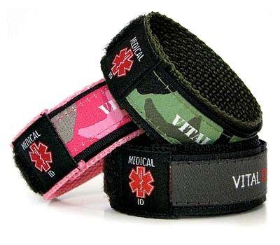 Free Medical Bracelets For Women Velcro Medical Alert