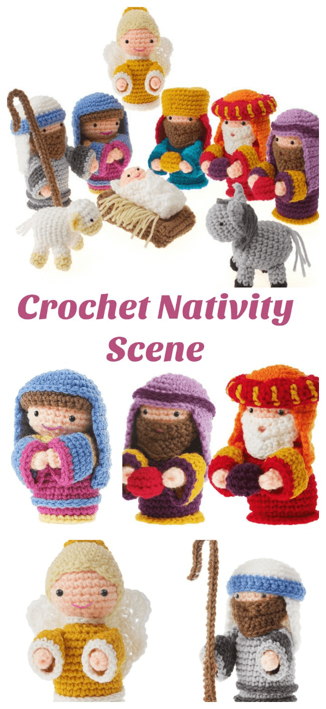 Christmas Crochet Nativity Scene Amigurumi Patterns - Crochet News