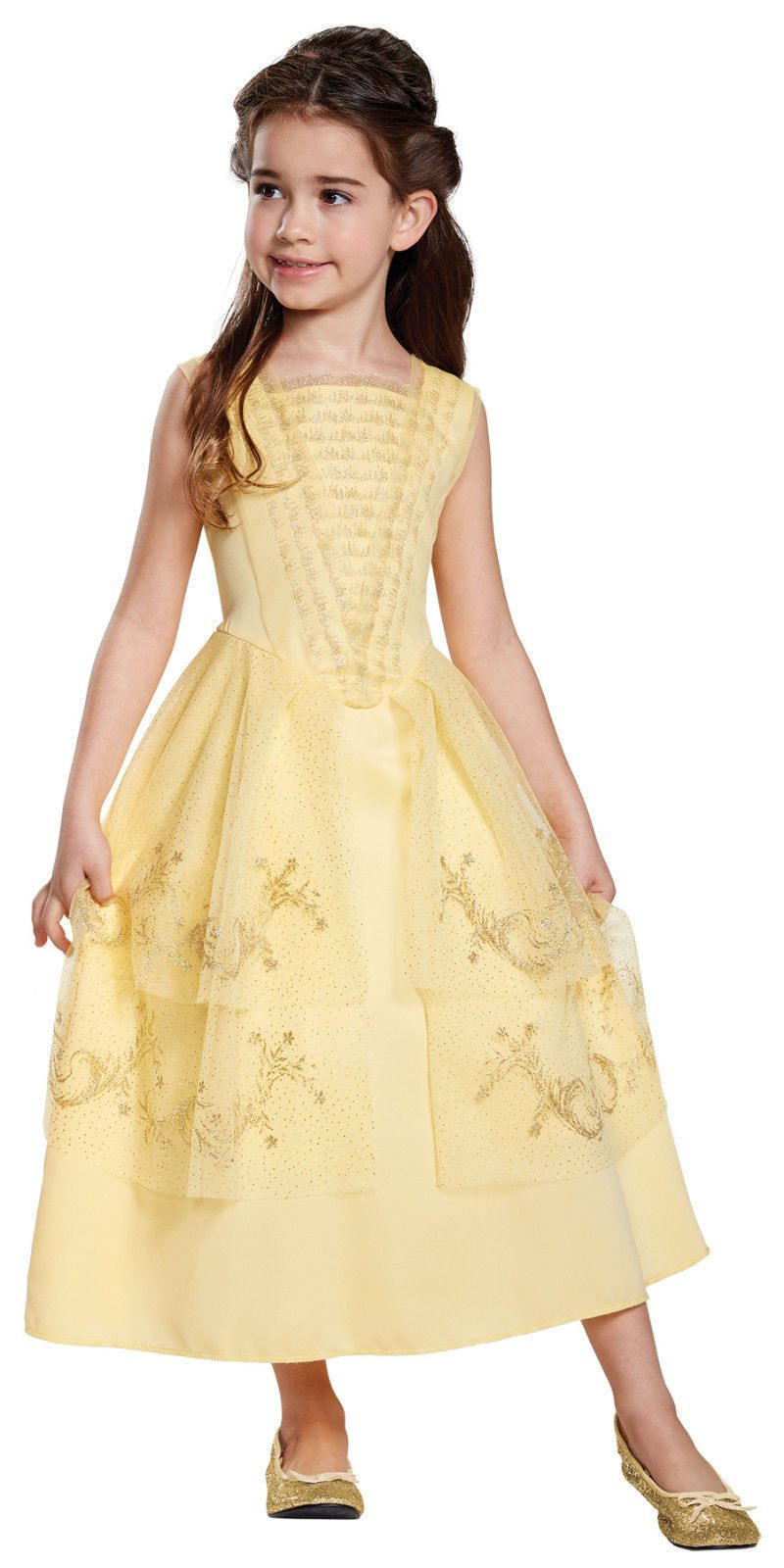 Girls belle ball gown classic beauty and the beast ue buy