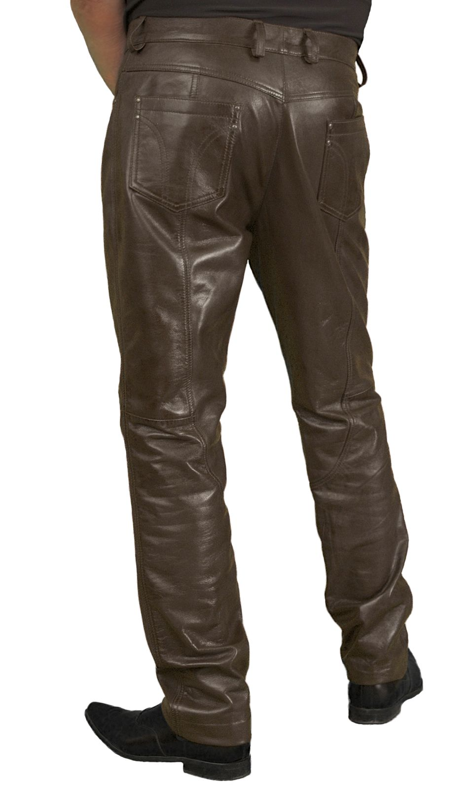 2539e3ff1a384c Mens Luxury Lambskin Leather Trousers Jeans (12 colours) | Things to ...