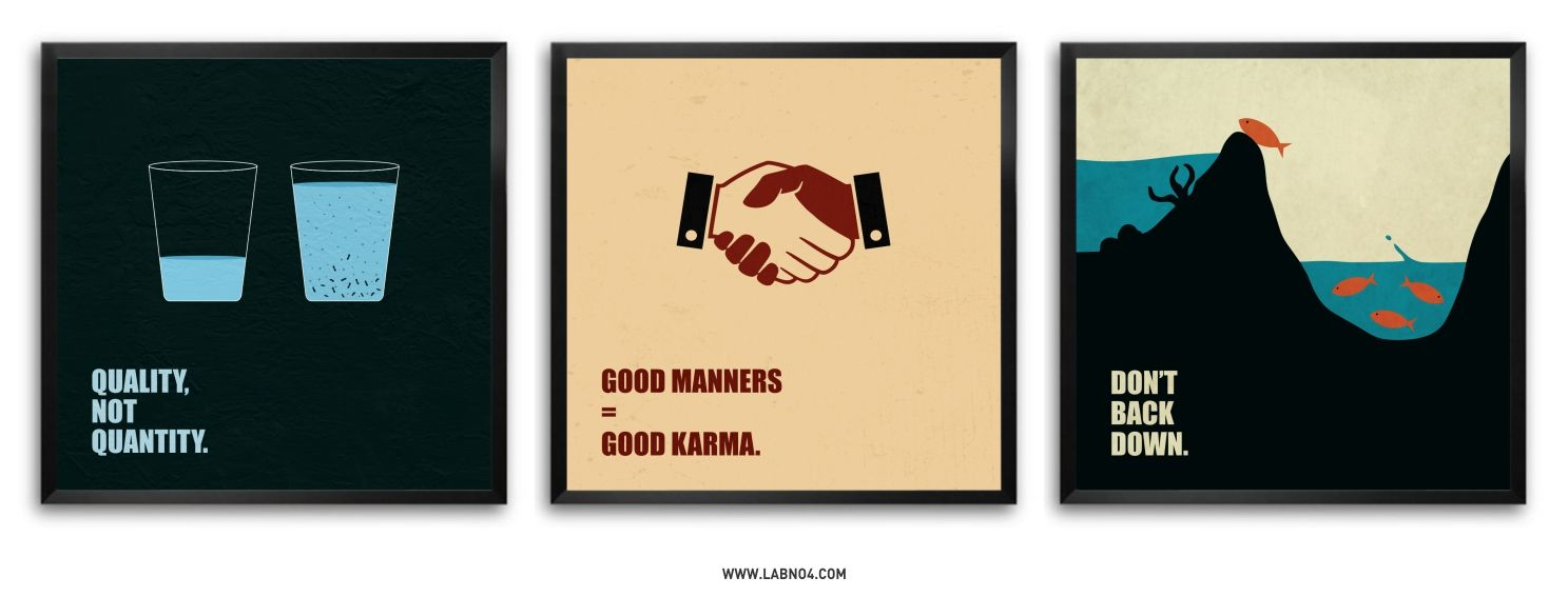 Corporate Business Quote Poster (Set Of Three) #Quote ...