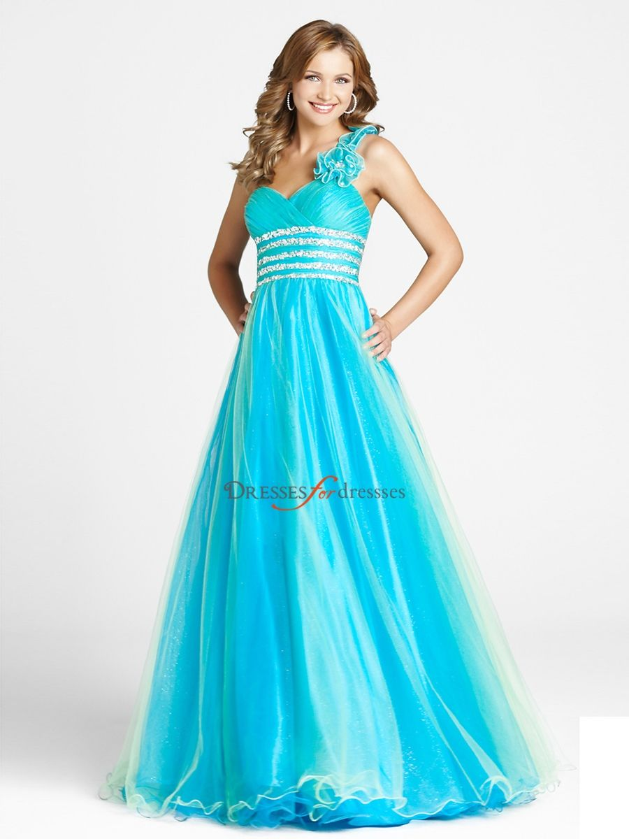 An Organza Ice Blue Junior Bridesmaid Dress in orange? i think ...