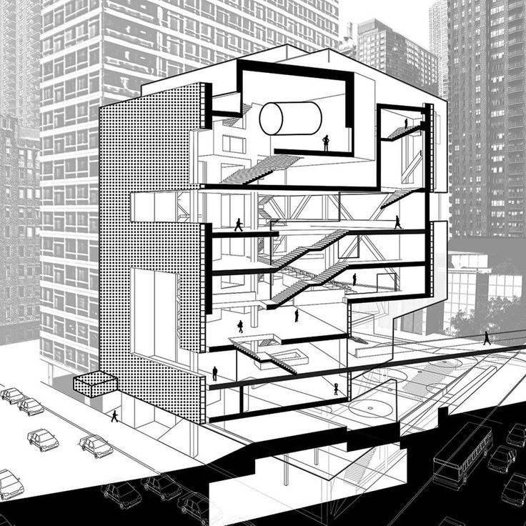 Architectural Drawings Rendering Urban Planning in 2020