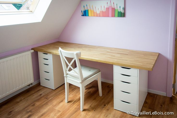 Bureau blanc ikea caisson clasf computer desk in bureaus