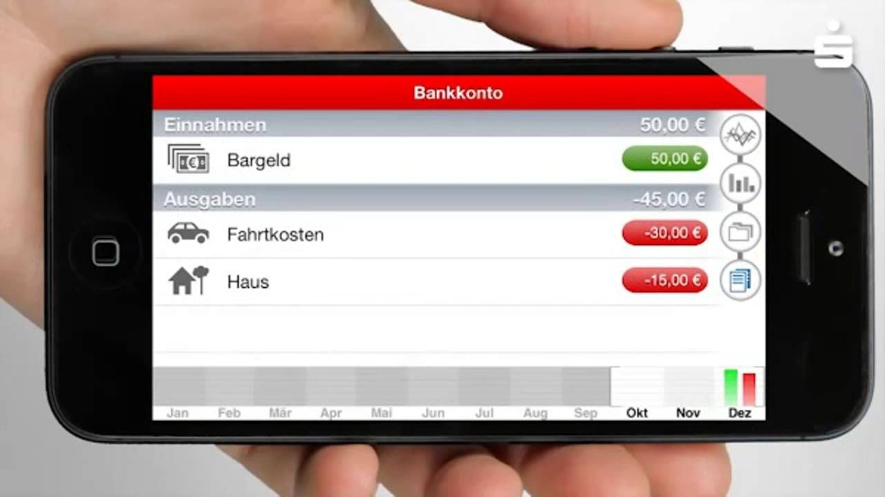 Sparkassen Banking App für iPhone, iPad, iOs, Android und Windows Phone