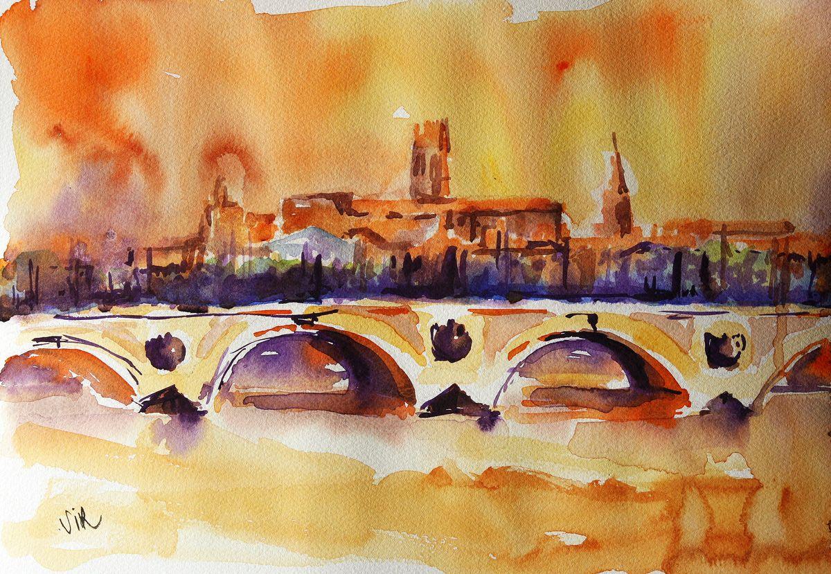 Aquarelle Toulouse Aquarelle Toulouse Et Artiste Peintre