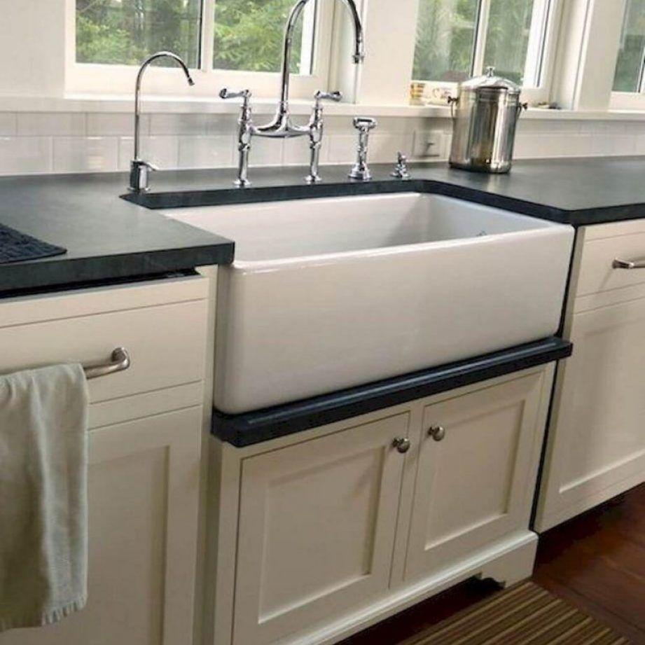 small farmhouse kitchen sink
