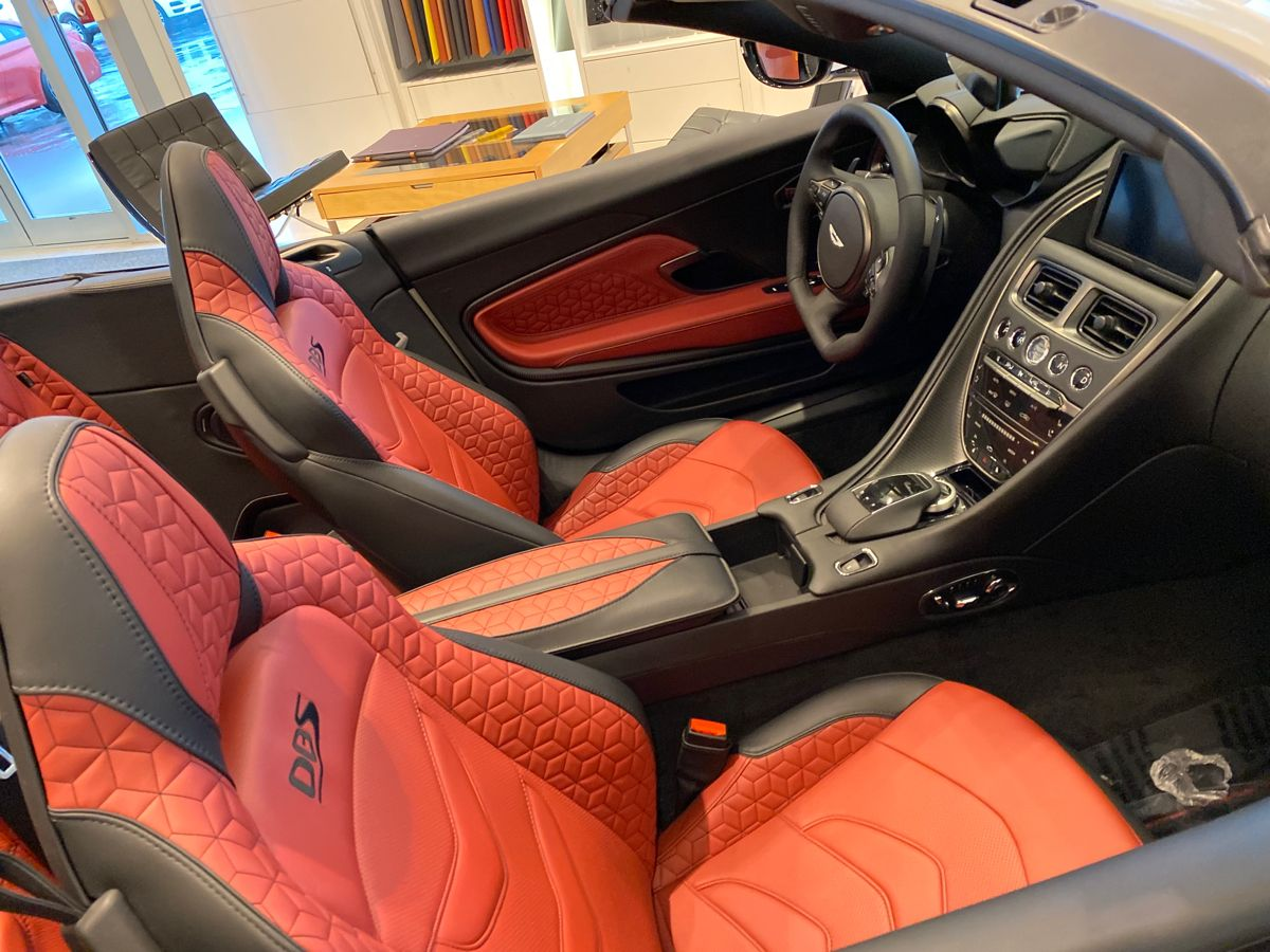 2020 Aston Martin Dbs Superleggera Volante Convertible Interior Superleggera Aston Martin Convertible Aston Martin