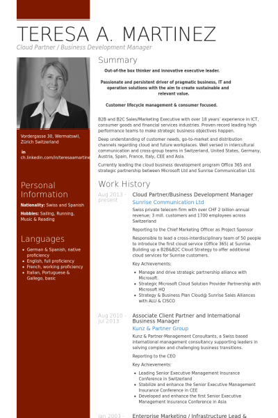 Unternehmensentwicklung Lebenslauf Vorlage Beispiele 2019 Click Picture For More Lebenslauf Vorlag Executive Resume Manager Resume Business Development