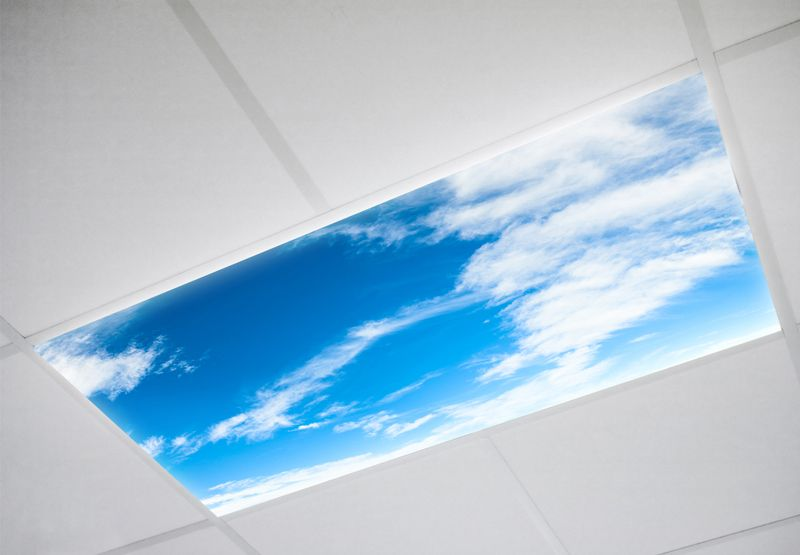 Cloud Fluorescent Light Covers Are Perfect For Schools Or Medical Offices Fluorescent Light Covers Decorative Light Covers Ceiling Light Covers