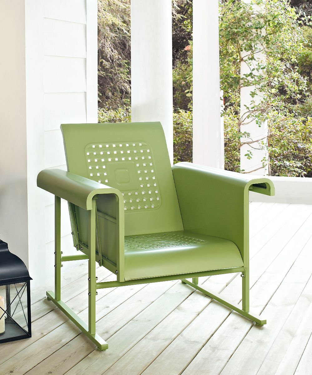 Oasis Green Veranda Glider | Out Doors | Pinterest | Sillas ...