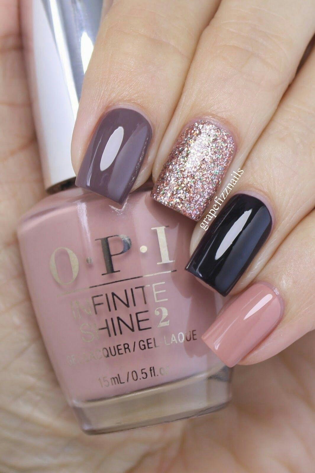 Elegante   uñas lindas   Pinterest   Diseños de uñas, Uña decoradas ...