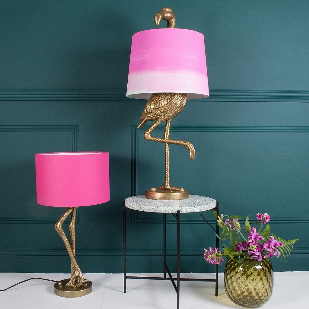 Brass flamingo leg table lamp with pink shade flamingo legs and brass flamingo leg table lamp with pink shade flamingo legs and vintage modern aloadofball Choice Image