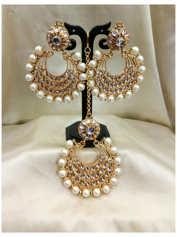 oxidized jewellery mangtika
