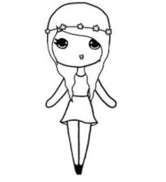 chibi girl template