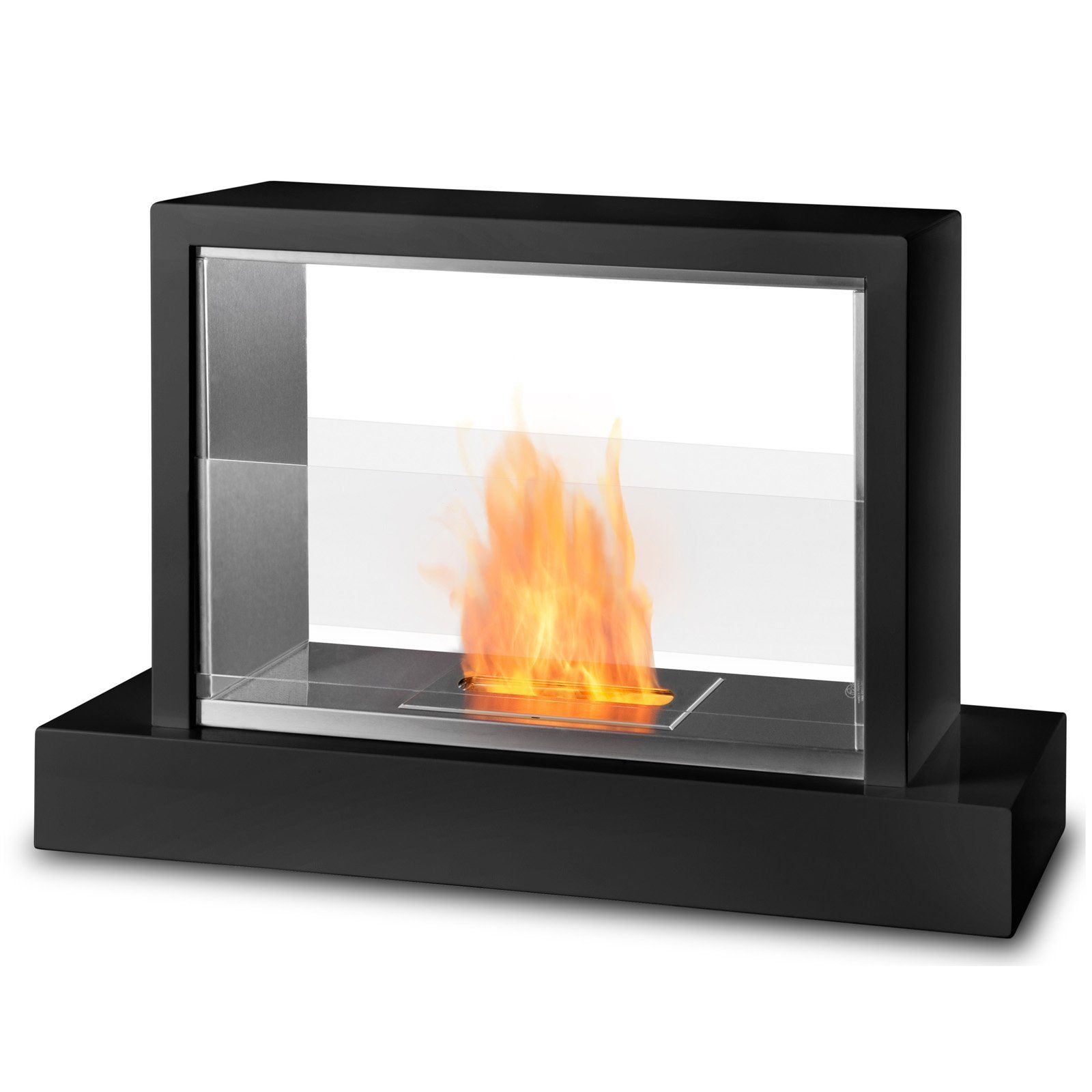 have to have it real flame insight ventless fireplace black