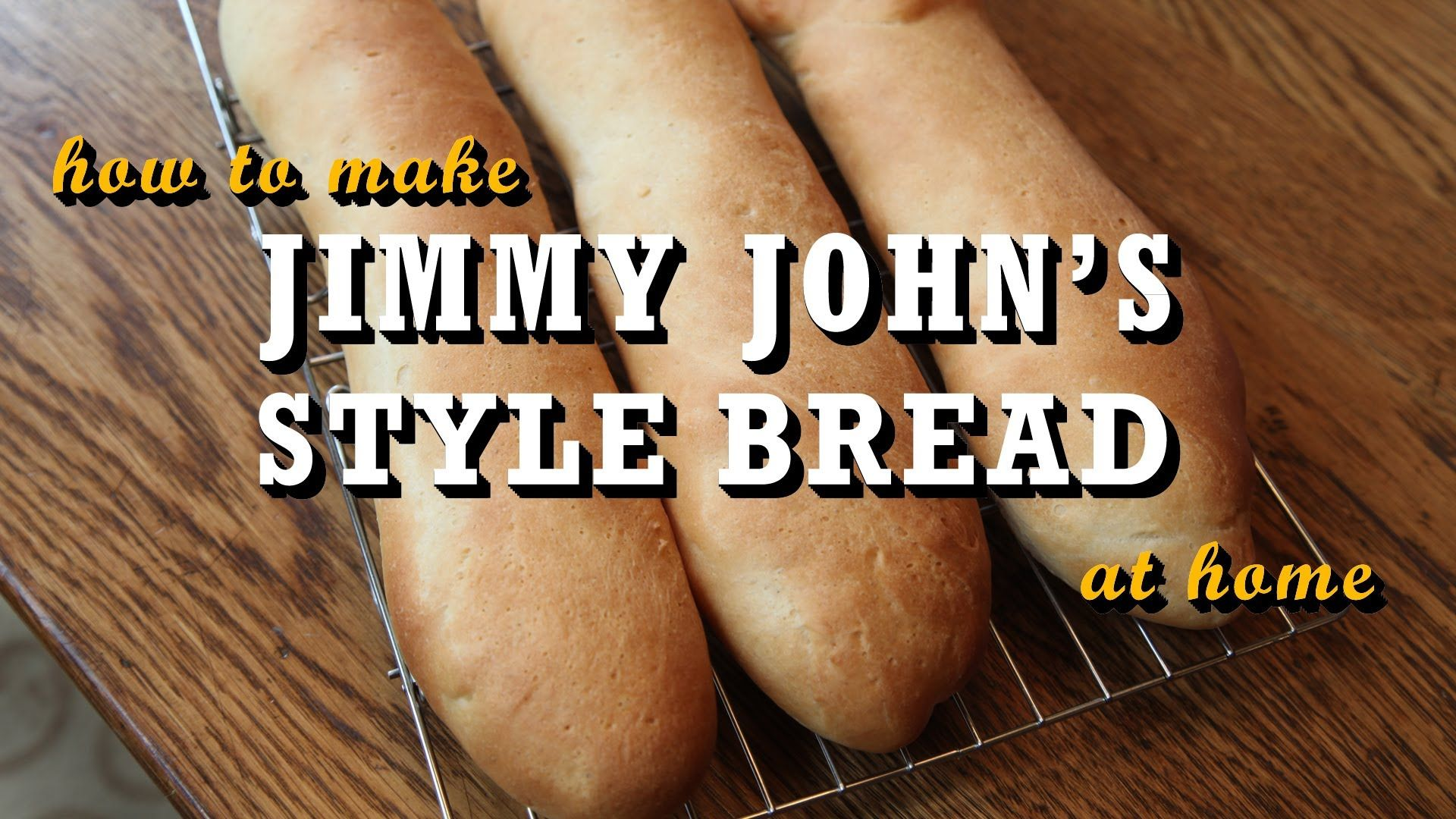 How to Make Jimmy John's Style Bread at Home. 1 pkg yeast ...