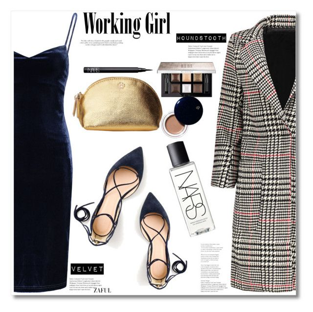 """Working Girl"" by mycherryblossom ❤ liked on Polyvore featuring Victoria Beckham, NARS Cosmetics, J.Crew, Givenchy, Tory Burch and Clé de Peau Beauté"