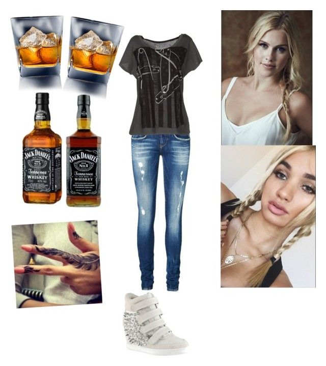 """Hanging out with aunt Bekah"" by batgirl-natasja on Polyvore featuring Vero Moda and ALDO"