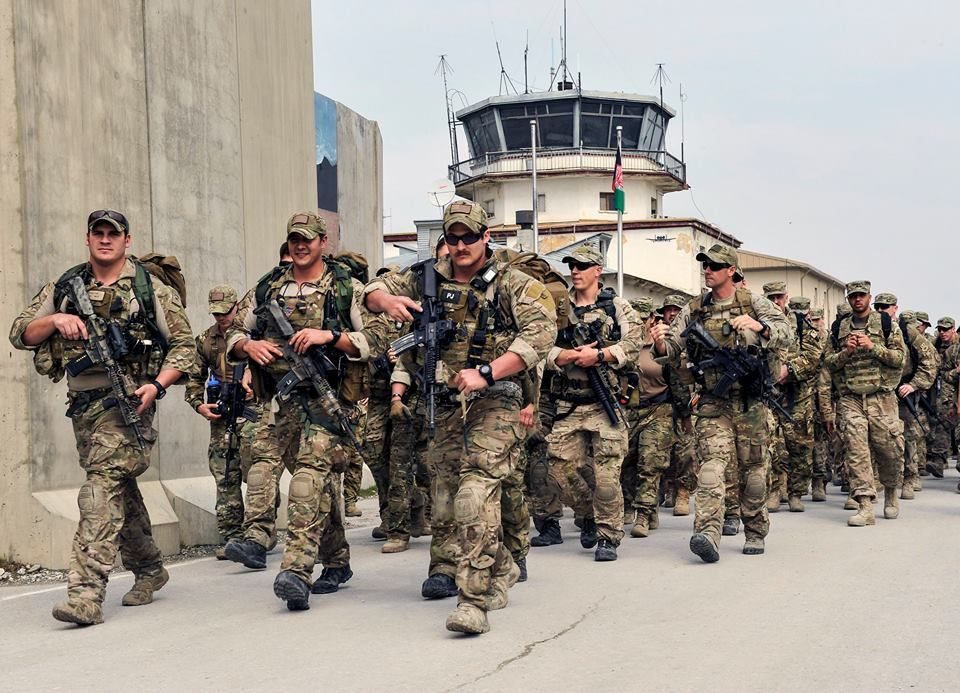 Pararescuemen lead nearly 400 service members on a three