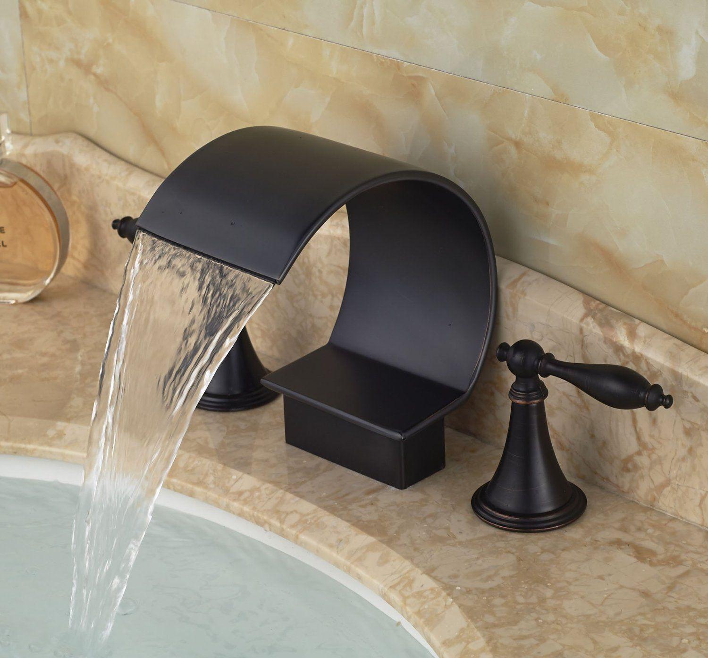 Robot Check Bronze Bathtub Faucet Sink Mixer Taps Bathroom Sink Faucets Chrome