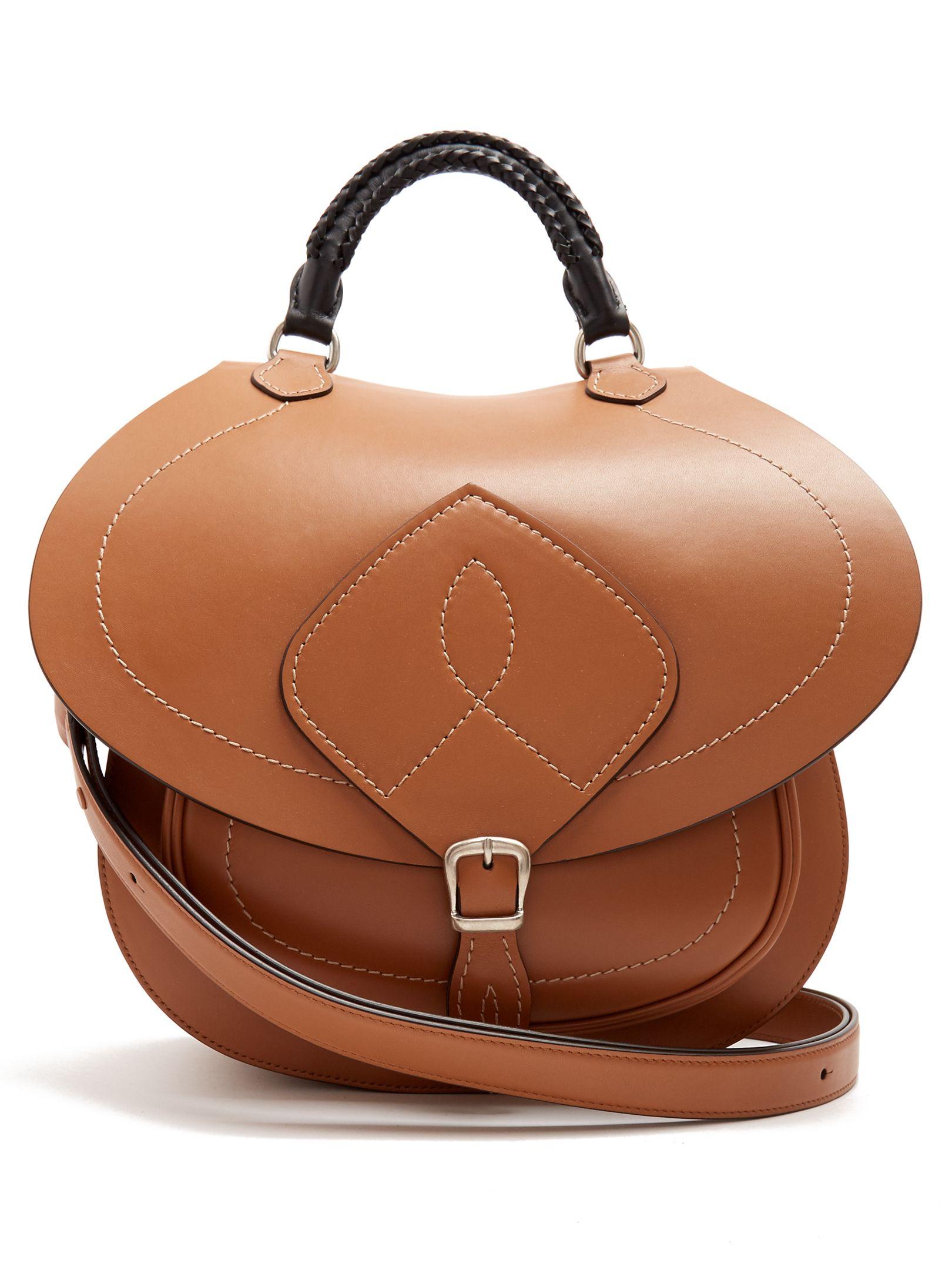 Saddle Leather Bag Maison Margiela Matchesfashion Com Uk