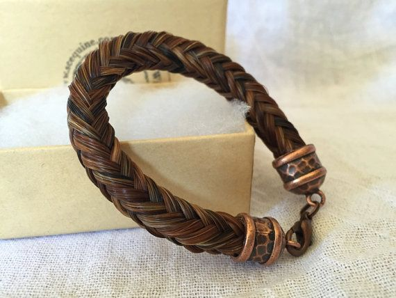 6bdb12b188397 Connor - Chunky Horse Hair Bracelet, Men's Horse Hair Bracelet ...