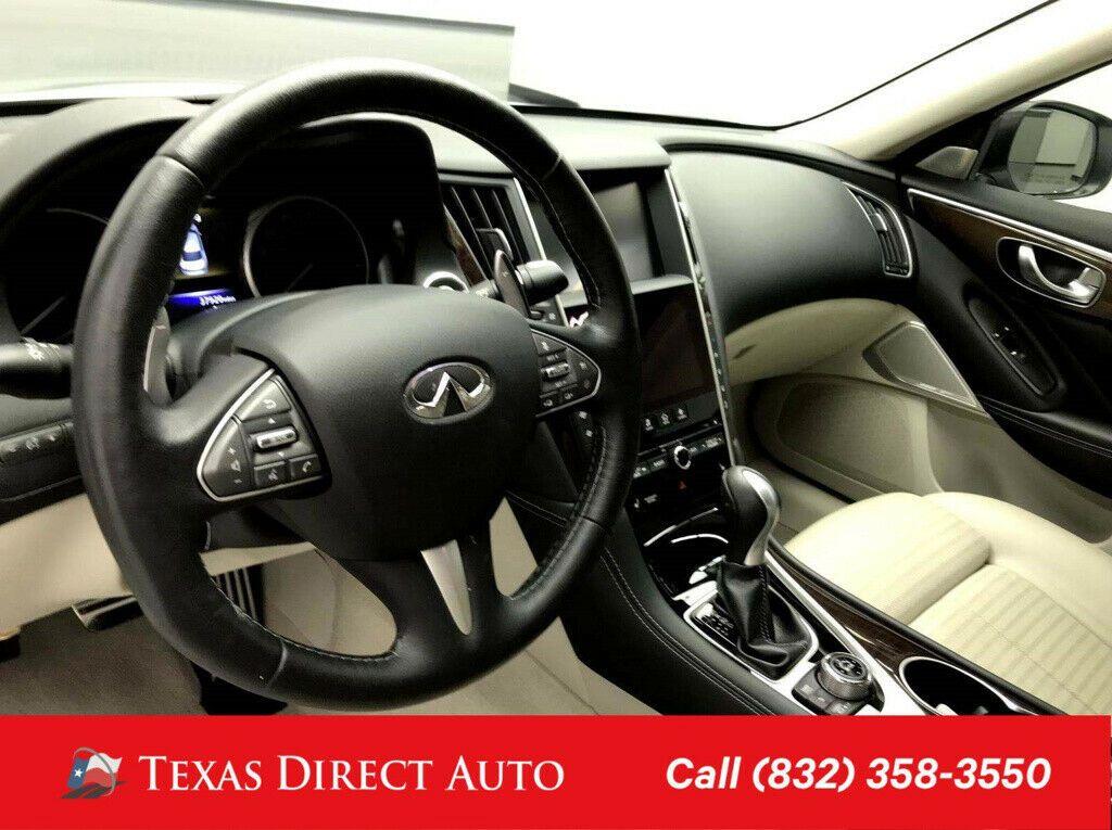 Used 2017 Infiniti Q50 Red Sport 400 Texas Direct Auto