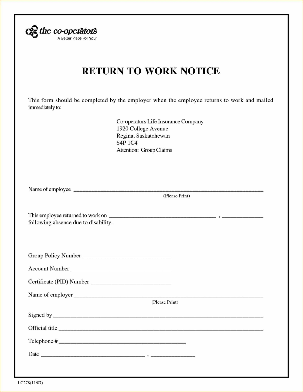 Return To Work Letter From Doctor Template from i.pinimg.com