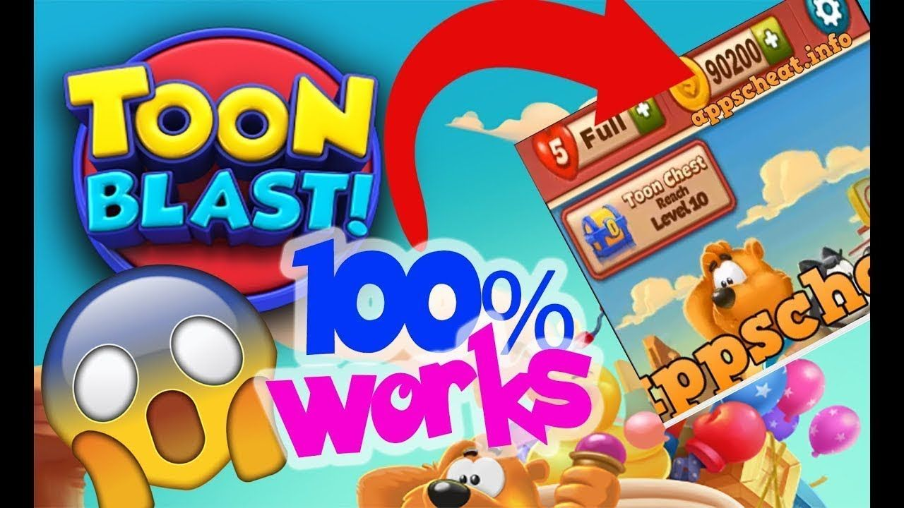 unlimited coins in toon blast