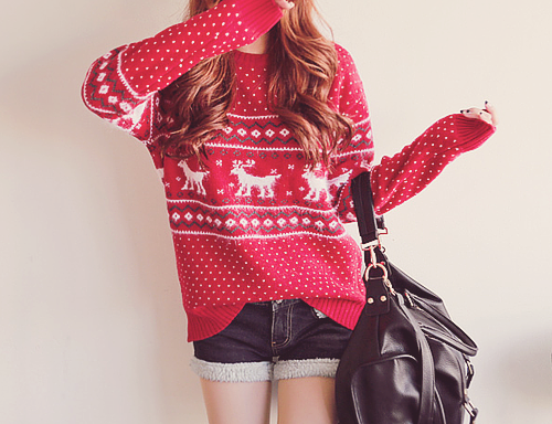 girl #kfashion #photography #winter #christmas #style #ulzzang ...