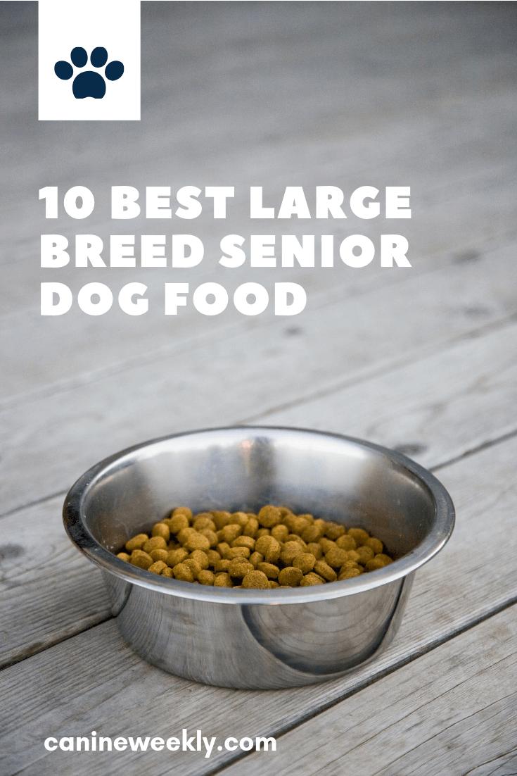10 Best Large Breed Senior Dog Foods in 2020 Dog food
