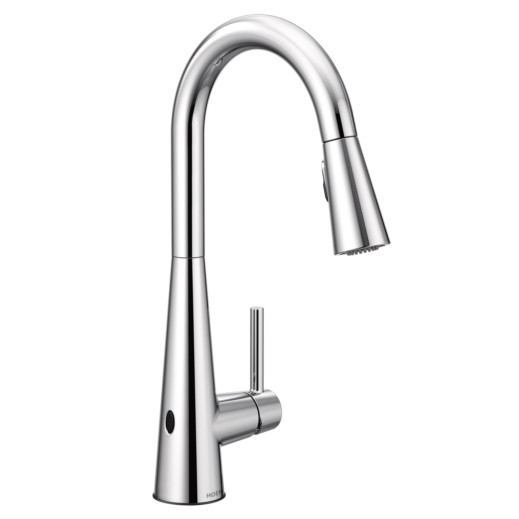 Moen 7864ew Sleek 1 5 Gpm Pull Down High Arc Kitchen Faucet With