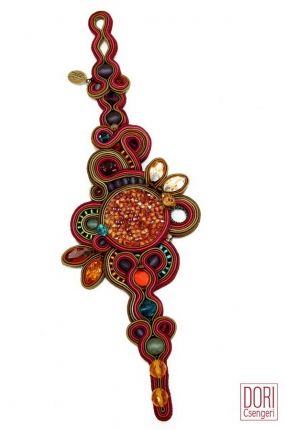 Phoenix high fashion statement bracelet by Dori Csengeri. #DoriCsengeri #bracelet #statement #oversized #fallfashion