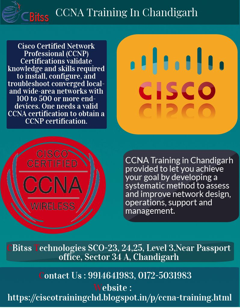 Join Ccna Training In Chandigarh Provided By Cbitss Technologies