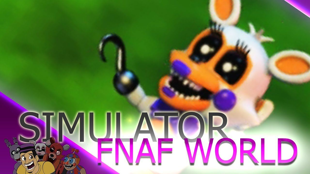 FNAF World Simulator Part 2 Lolbit Boss Fight | Follow The