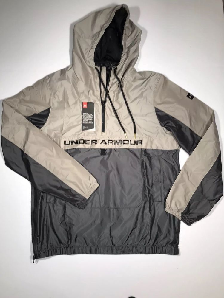 f978530ea2 Under Armour Pursuit Subsurface Windbreaker Jacket 1313231 Men's New ...