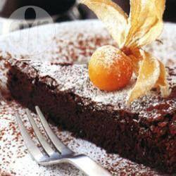 Schokoladentarte Ohne Boden Rezept Essen Und Trinken Pinterest