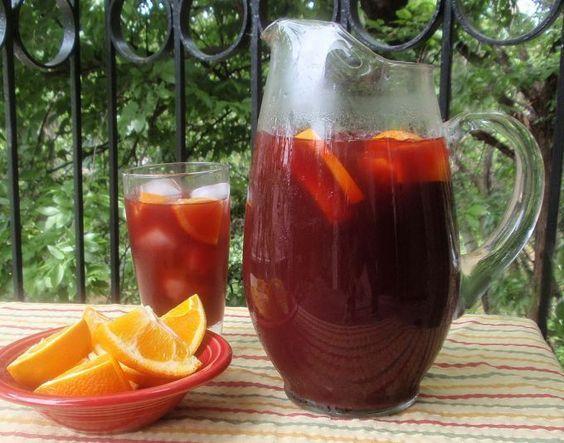 Ma recette de sangria sans alcool facile et conomique - Cuisine economique 1001 recettes ...
