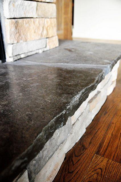 Rustic Granite Countertops Granite Fireplace Granite Hearth Kitchen Remodel Countertops