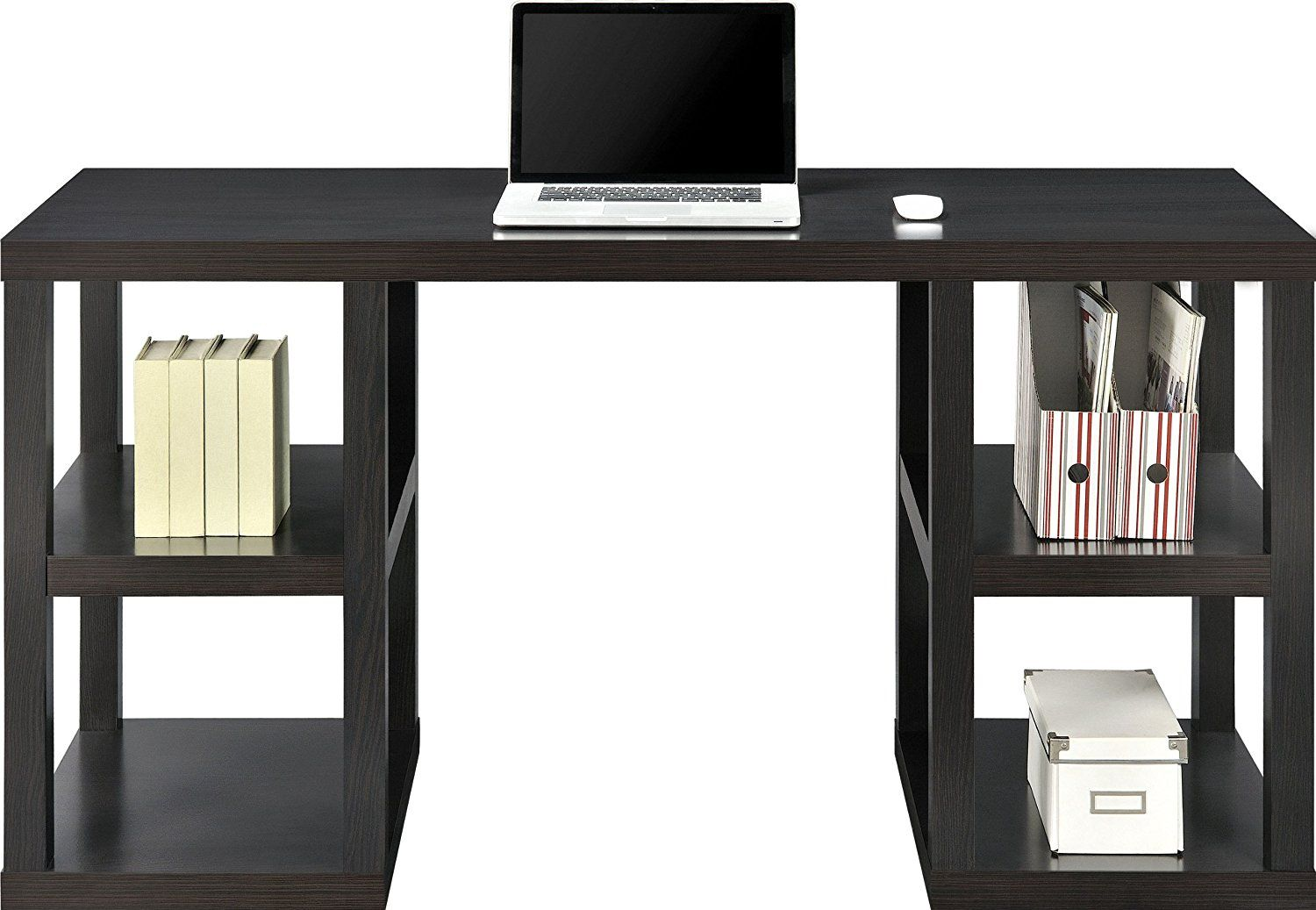 99 Parsons Desk Black Contemporary Home Office