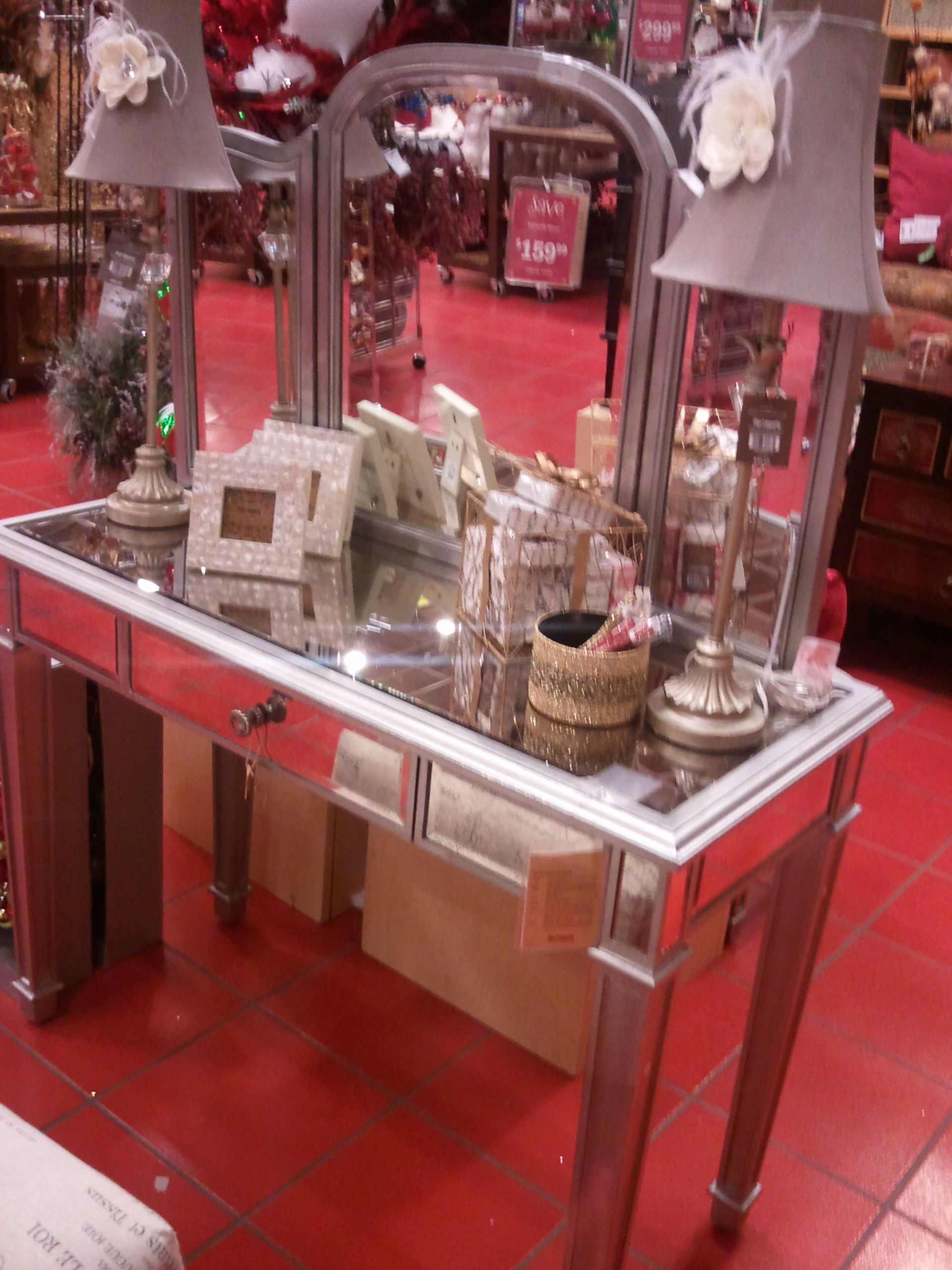 My Dream Vanity From Pier One Imports Pier One Makeup Vanity